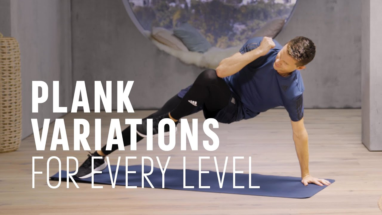 Plank Variations for Core and Back: All Levels