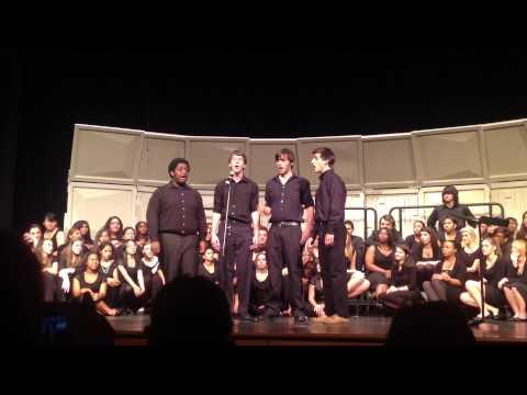 Dunwoody High School Quartet Oct 2012