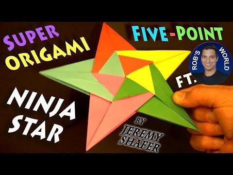 Super Five-Point Ninja Star! - FT. Rob's World