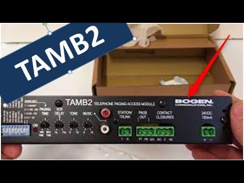 Bogen TAMB2 Unbox And Overview