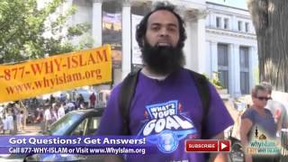 Talking Islam at National Mall in Washington DC for GlobalDawahDay Thumbnail