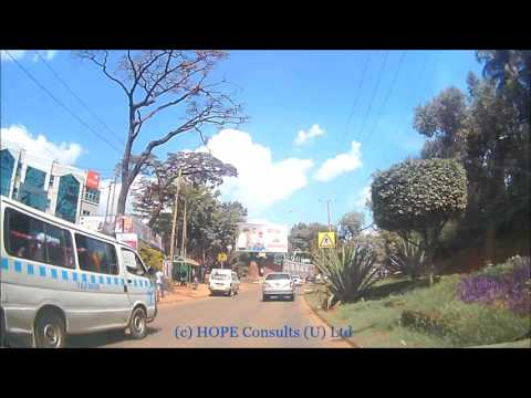 Kampala Drive - City road sides with sorry forage