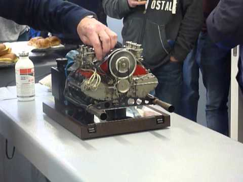 Miniature 911 Engine Youtube