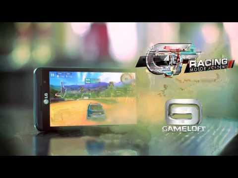 LG Optimus 3D P920 - Film:  3D Games from Gameloft