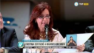 Visión 7 - La Presidenta presenta nuevo avión de Aerolíneas Argentinas