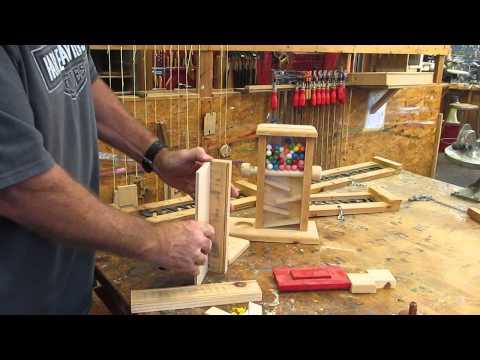 wood chop machine