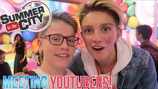 MEETING MORGZ, SAFFRON BARKER, OLI WHITE, WILLNE!!! SUMMER IN THE CITY 2017! (my favourite vlog :D)