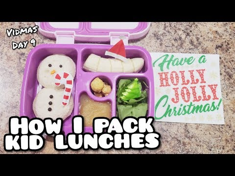 Packing Christmas Lunches - Easy CUTE Lunch Ideas - Bella Boo's Lunches