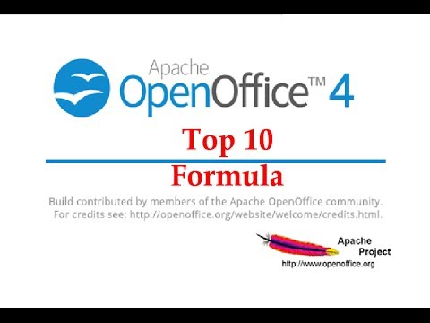 The Top 10 Most Useful Open Office Calc Formula Tutorial