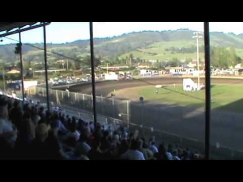 Geoff Goes Over the Wall at Ocean Speedway