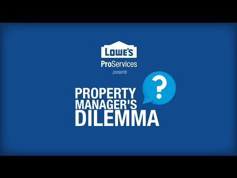 Property Manager's Dilemma: Landscaping