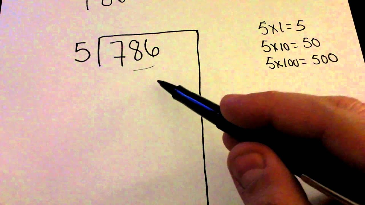 hight resolution of Partial Quotients Division Method (video lessons