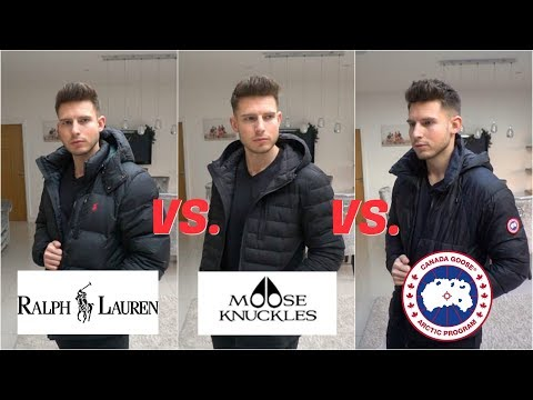 What Is The BEST Designer Coat? (Ralph Lauren Vs Moose Knuckles Vs Canada Goose)