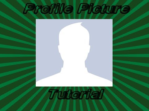 How to make your own Custom Profile Picture for Youtube