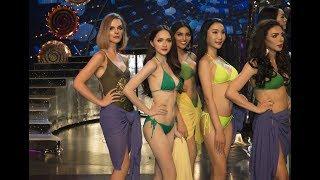 Trực tiếp phần thi Bikini của Hương Giang và các Hoa hậu Chuyển giới Quốc tế 2018