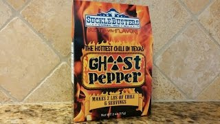 """Sucklebusters """"ghost Pepper"""" Chili Kit Review"""