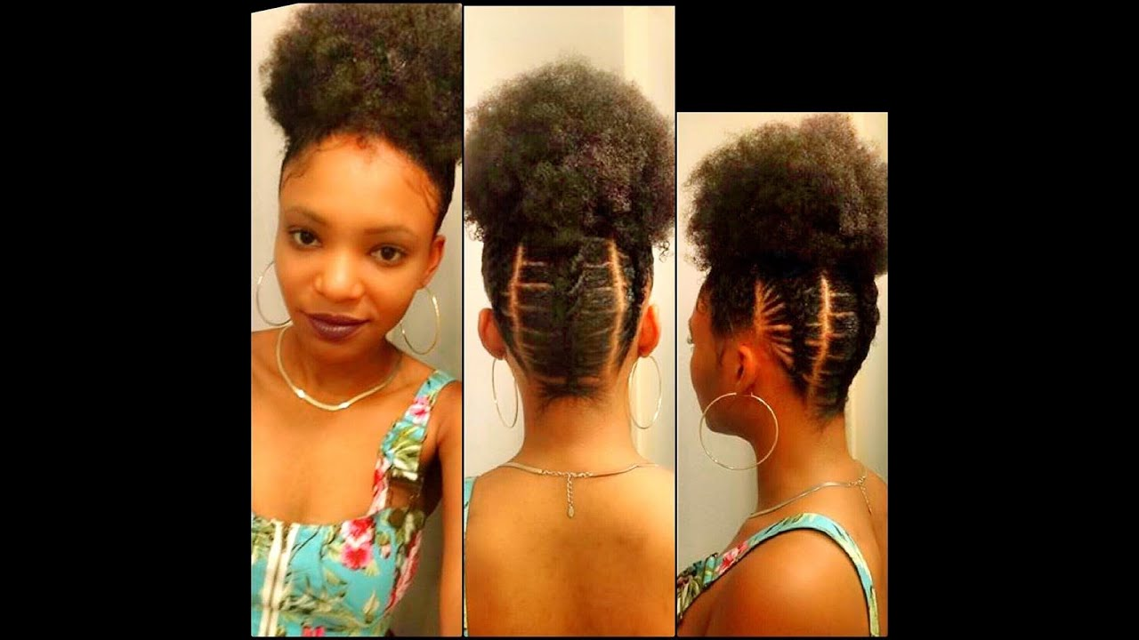 personalize afro puff elastic