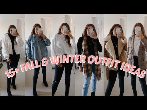 15+ FALL & WINTER OUTFIT IDEAS | LOOKBOOK - YouTube