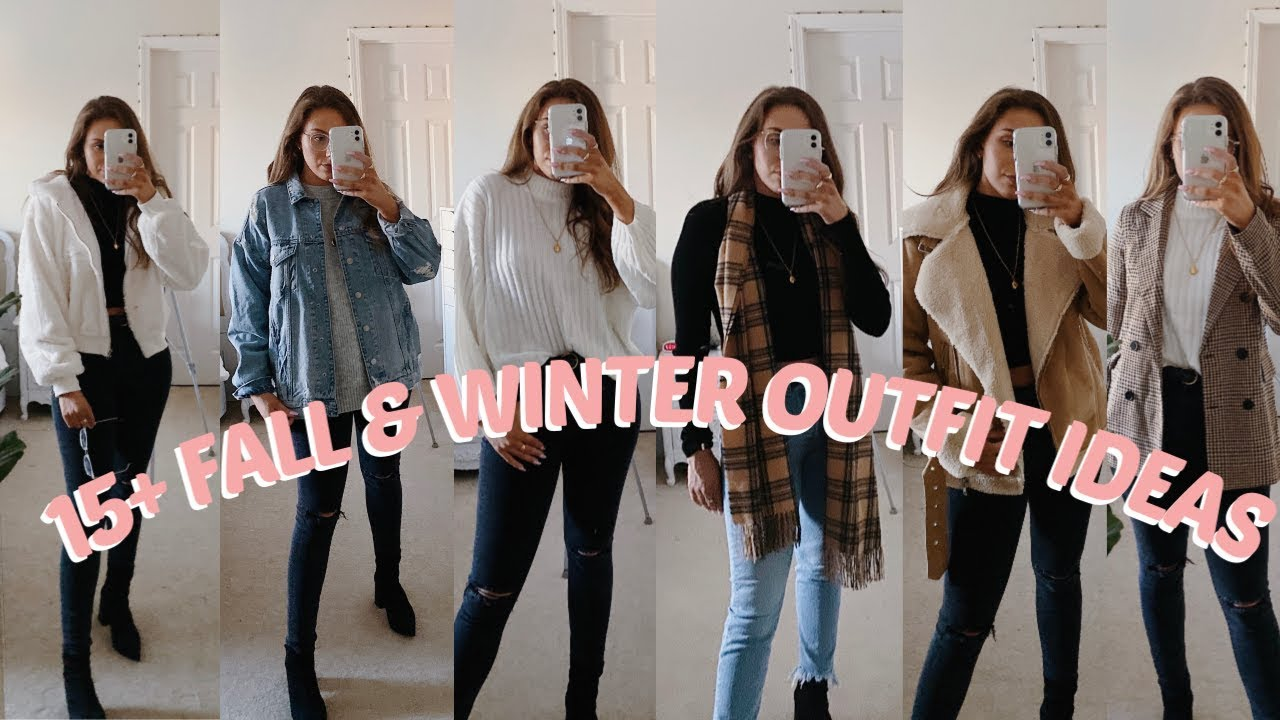 [VIDEO] - 15+ FALL & WINTER OUTFIT IDEAS | LOOKBOOK 1