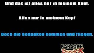 Andreas Bourani Nur In Meinem Kopf karaoke