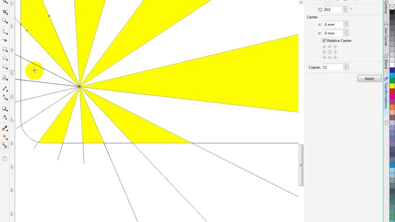 hướng dẫn vẽ cơ bản bằng corel x7