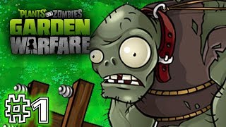 Video Plants Vs. Zombies - GARDEN WARFARE - PART 1 (HD GAMEPLAY) download MP3, 3GP, MP4, WEBM, AVI, FLV April 2018