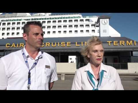 Matt & Kathy from Intercruises Port and Shore Side Services