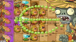 Plants Vs Zombies 2: Chinese New Year Exclusive Monkey Kiwi Plant Kung Fu World Challenge!