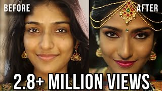 SOUTH INDIAN BRIDAL MAKEUP LOOK | MUGURTHAM MAKEUP | MAKEUP BY PREETHI