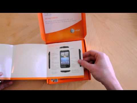 AT&T HTC Inspire 4G unboxing