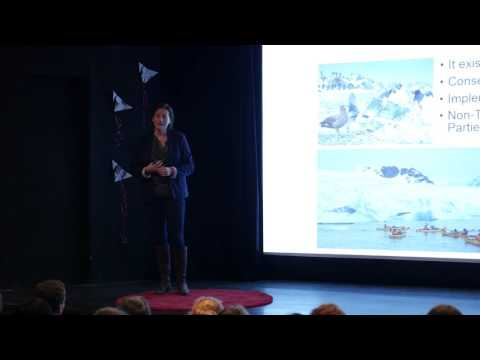 Tourism - A Force for Good in the Antarctic? | Kim Crosbie | TEDxUniversityofEdinburghSalon