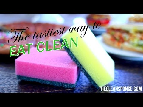 lose-weight-with-no-exercise-while-eating-pizza!-the-clean-sponge!