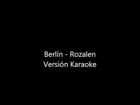 Rozalen   Berlín Karaoke