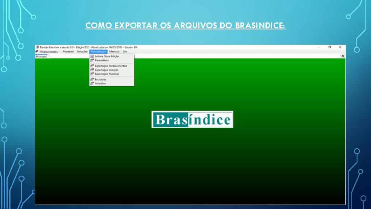 revista brasindice