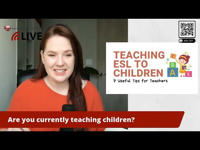 Useful Tips for Teaching ESL To Children