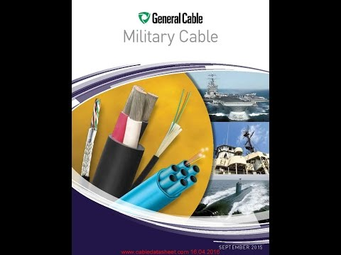 General Cable Military Cable