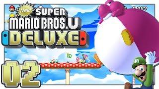 New Super Mario Bros. U Deluxe - Baby Yosh! - Part 2