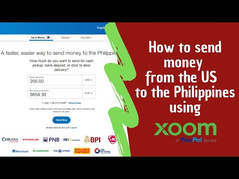 Review Of Xoom By Paypal | HOW TO SEND MONEY TO THE PHILIPPINES USING XOOM.COM