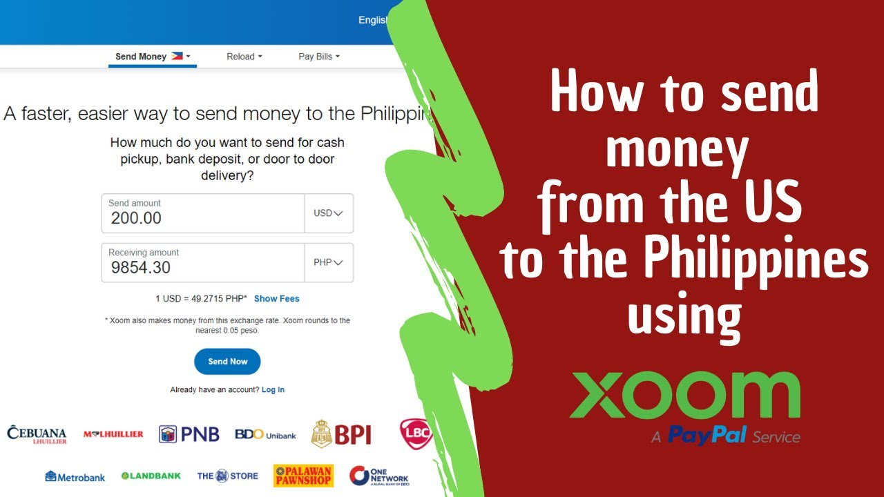 How To Send Money The Philippines
