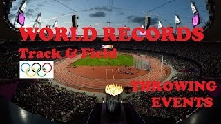 Track & Field World Records in Throwing Events