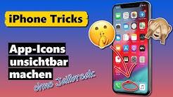 App Icons unsichtbar machen & im Dock verstecken (ohne Jailbreak) 🙈🤫