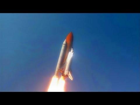 NASA ПОЛЁТ SPACE SHUTTLE HDTV  КОСМИЧЕСКИЙ ШАТЛ