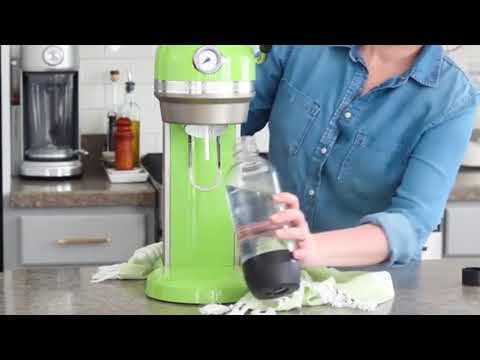 St  Patrick's Day Matcha Ginger Ice Cream Floats by Baking a Moment | KitchenAid