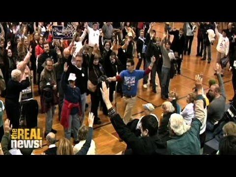 Inside a caucus: Iowa 2008