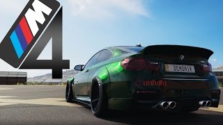 BMW M4 COUPE - UNHOLY / Drift Practice FH3