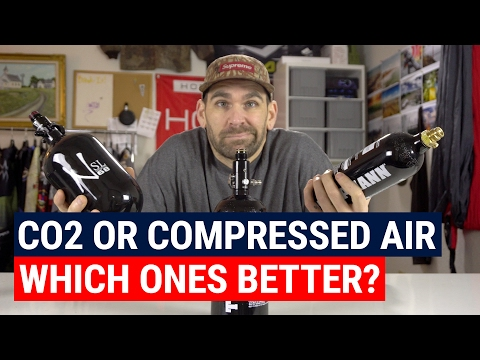 Co2 or Compressed Air, Which Ones Better?