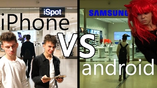 Posiadacz iPhone'a vs Androida