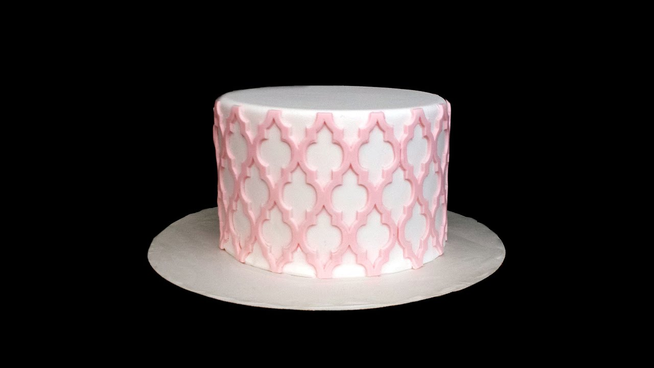 silicone onlays intricate cake designs made easy youtube