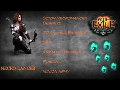 Path Exile 2.2 - Necro Dancer Build Scion