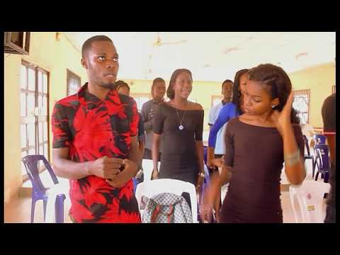 Marine spirit in the Church of god (comedy skit)